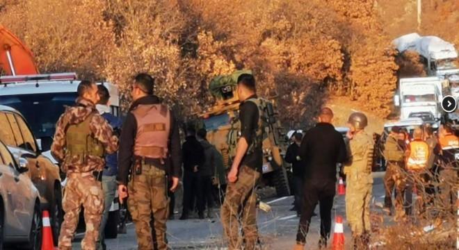 Kaza, Tunceli-Erzincan Karayolu'nun 5. kilometresi Sinan Köyü mevkiinde meydana geldi